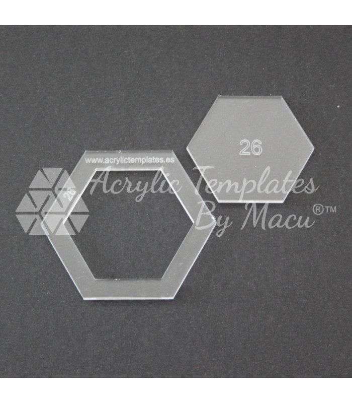 ACRYLIC TEMPLATES BY MACU